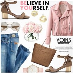 Yoins by jiabao-krohn on Polyvore featuring polyvore, fashion, style, Just Cavalli, CLUSE, LSA International, clothing, yoins, yoinscollection and loveyoins