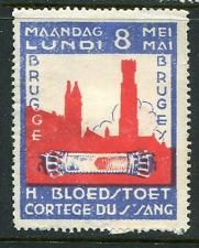 H Bloedstoet Cortege Du Sang Reklamemarke Poster Stamp