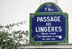 passage des Lingères - Paris 1er