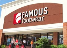 Famous Footwear Coupons.  Earn 4% cashback.