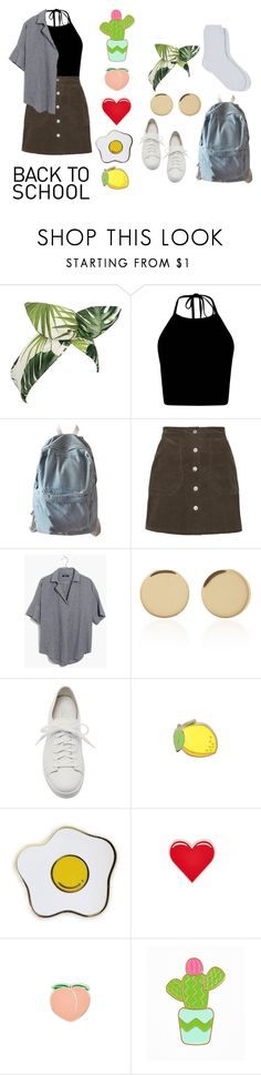 """""""Go Back-to-School Shopping!"""" by lavenderbabyy ❤ liked on Polyvore featuring Lulu in the Sky, WithChic, Madewell, Magdalena Frackowiak, Santoni, PINTRILL and Maria La Rosa"""
