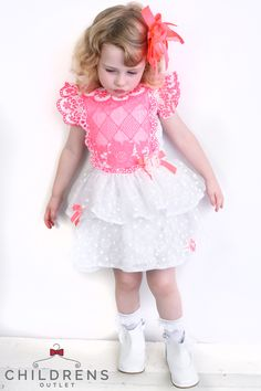 245f457cd953 Plenty of bows and frills can be found in our huge collection of Spanish  style children s