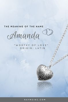 Kelly products personalized necklace and necklaces unique personalized necklace based on the meaning of the name amanda a sentimental and meaningful gift for her perfect gift for any special occasion negle Images