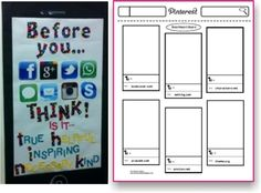 Teach Junkie: Top 5 Teaching Ideas - Pinterest Style Book Report - I like the tech lesson about how to use the internet appropriately.