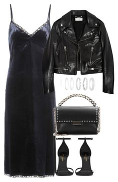 """""""Untitled #3532"""" by theeuropeancloset on Polyvore featuring Prada, Yves Saint Laurent, STELLA McCARTNEY and Belk Silverworks"""