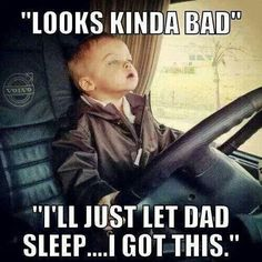 Trucker Baby on Pinterest | Truck Drivers, Semi Trucks and ...