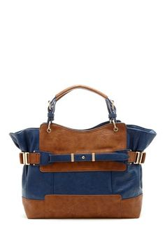 Mon Santino Colorblock Handbag by Color Coded on @HauteLook