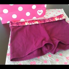 Victoria's Secret Pink Tropical Shorts Nwt. :) PINK Victoria's Secret Other