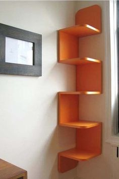 Shelf 20 creative space saving ideas for home - The Grey Home - Where desire meets inspiration