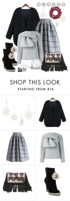 """""""FG1194"""" by axenta ❤ liked on Polyvore featuring Design Ideas, Chicwish, MSGM, Isabel Marant, BCBGMAXAZRIA, Sheinside, coat and axenta"""