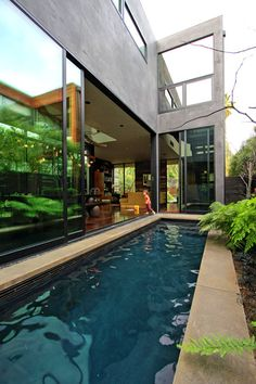 A fantastic Marmol Radziner custom built in Venice, CA.  Amazing use of light, space, and reclaimed materials.