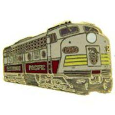 "Canadian Pacific Locomotive Railroad Pin 1"" by FindingKing. $8.99. This is a new Canadian Pacific Locomotive Railroad Pin 1"""