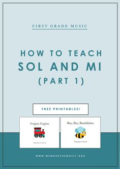 Grade Music Lesson Plans Best Of Music In First Grade How to Practice sol and Mi Part 3 Music Education Activities, Teacher Resources, Preschool Activities, Music Lesson Plans, Music Lessons, Teaching Music, Teaching Tips, Kindergarten Music, Music Classroom