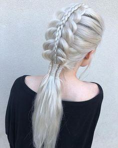 Beliebte Geflochtene Frisuren Für Langes Haar Weitere