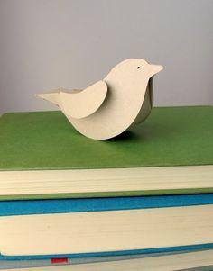 Paper birds - so cute