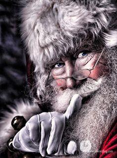 Jolly Ol' St. Nick / Christmas Card Art - Postcard - Posters