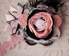 Ava Maria boutique headband Persnickety by McKenzieGraceDesigns, $29.99