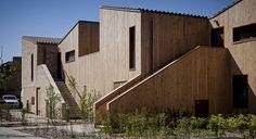 60 logements sociaux, Chanteloup-en-Brie  Jean & Aline Harari + d'ici là paysagistes