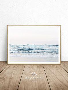 Beach Wall Decor for Bedroom Beach Printable Wall Art Ocean Print Coastal Printable