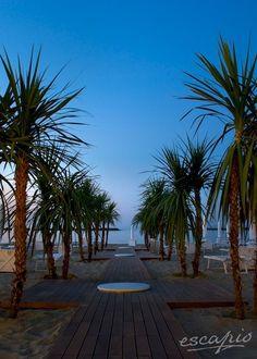 Beach days in Italy - Strandurlaub in Italien.Hotel Excelsior Pesaro. Marken. Italien