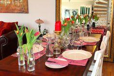 StadtLandLebenslust: Blumen auf dem Tisch