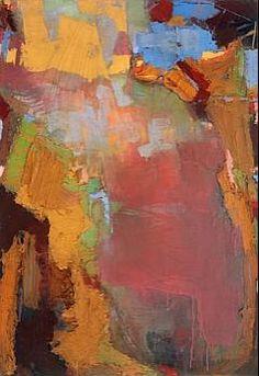 Brian Rutenberg, Summer Swirl 9; 2007, oil on linen, 36 x 25 [BR 14]