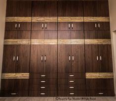 Wardrobe Laminate Design, Wall Wardrobe Design, Wardrobe Interior Design, Wardrobe Door Designs, Bedroom Closet Design, Bedroom Furniture Design, Home Room Design, Bed Design, Flat Interior