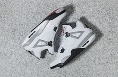 "Coming soon at the Air Jordan 4 ""White Cement"""