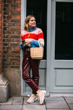 London Fashion Week Street Style Fall 2018 Day 5
