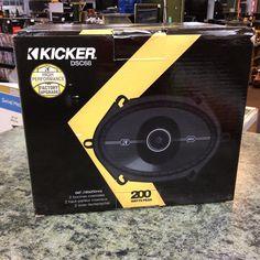 Kicker 6x8 car speakers, model DSC68, new in the box. #stopandpawn #caraudio #kicker #carspeakers