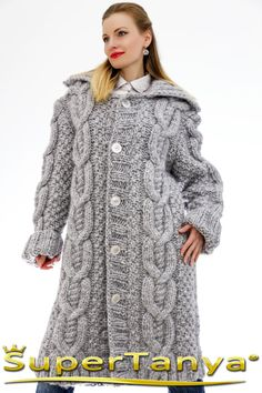 Made to order hand knitted mohair wool cardigan in by supertanya