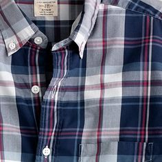 Crew for the Secret Wash button-down shirt in Torin tartan for Men. Find the best selection of Men Shirts & Tops available in-stores and online. Tartan Shirt, Flannel Shirts, Men Shirts, Trendy Outfits, Fashion Outfits, Mens Fashion, Picnic Outfits, Crew Shirt, J Crew