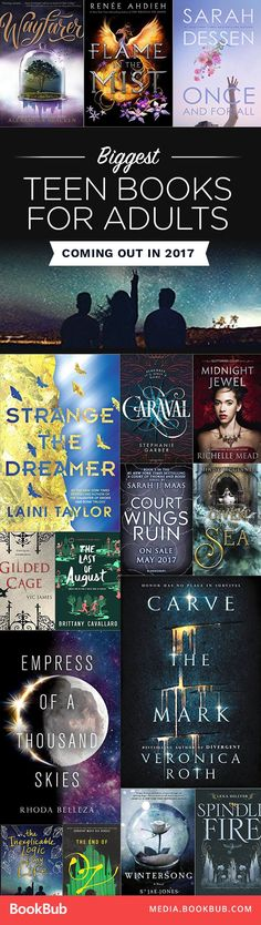 Teen Books for Adults Coming in 2017 Some awesome YA books to read for young adults this year.Some awesome YA books to read for young adults this year. Ya Books, I Love Books, Good Books, Books To Read, Book Suggestions, Book Recommendations, Books For Teens, Lectures, Fantasy Books