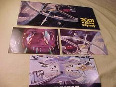 2001 A Space Odyssey Set of Cinerama Film Program & 3 by MAYSVTG, $79.95
