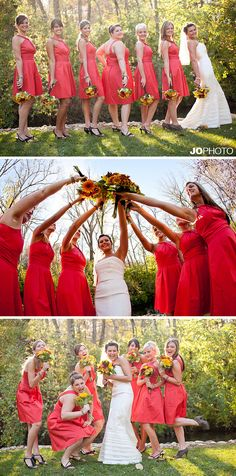 @Jess Pearl Pearl Pearl Pearl Brown  Bridesmaid photo ideas NOT THE LAST ONE JESS!!!!! The second one is cute