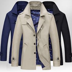 $29.89 Casual Business Multi Pockets Solid Color Thin Single Breasted Jacket for Men - Newchic