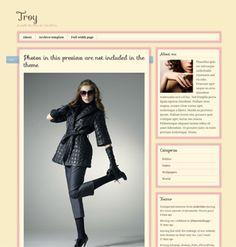 Troy A tumblr like theme for WordPress