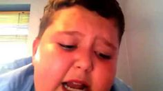 Funny kid singing this girl is on fire (ultimate fail!!) try not to laugh!!! - YouTube