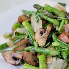 Asparagus Debloating Recipes----- omg!! my favorite foods united =)