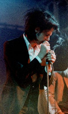 """Nick Cave & The Bad Seeds in Amsterdam, Paradiso, 1985 Photo by George Bekker """""""