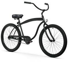 sixthreezero Men's In The Barrel 1-Speed 26-Inch Beach Cruiser Bicycle, Matte Black -- See this great product.