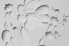 maud vantours, 3d paper, flora