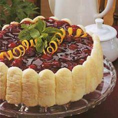 Cherry Cheese Torte