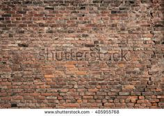 Old brick wall background. Grunge texture.