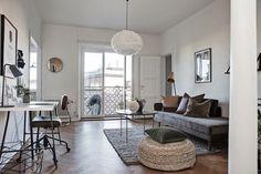 Carefully styled apartment