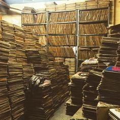 stacks of wax