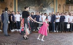 The royal described her daughter as sociable and curious, which she said will be an advant...