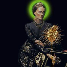 Dolce e Gabbana + escultura de Hedi Xandt Artwork: Eduardo Paixão