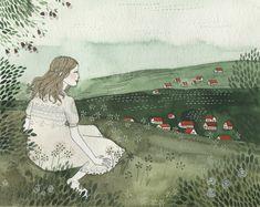 Yelena Bryksenkova. Me fascina esta ilustradora.