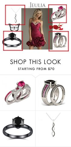 """""""Jeulia Jewelry happiness-29"""" by nihada-niky ❤ liked on Polyvore featuring women's clothing, women's fashion, women, female, woman, misses, juniors, jeulia and jewelr"""